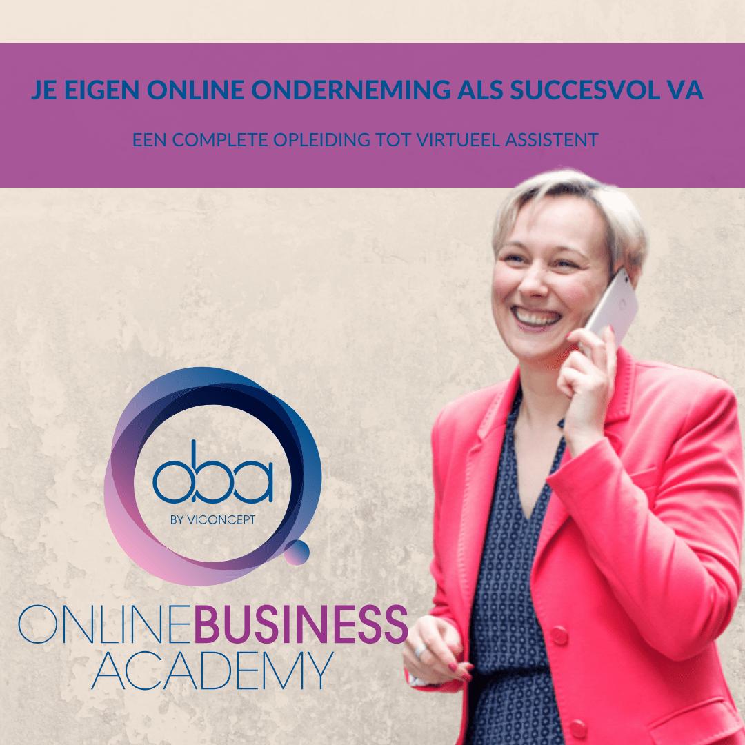 Je eigen online onderneming als succesvol VA