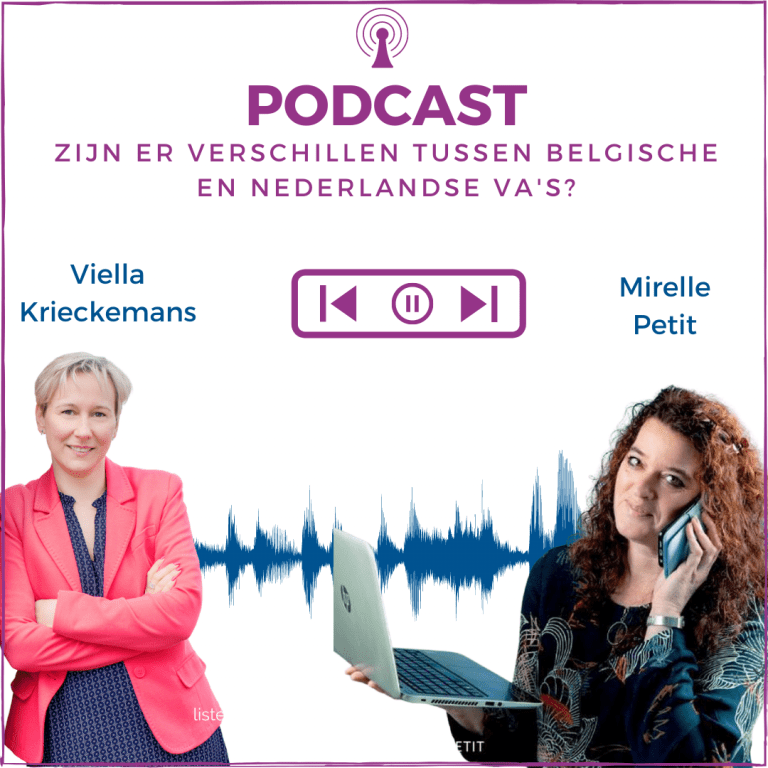 Podcast | Zijn er verschillen tussen Nederlandse en Belgische VA's?
